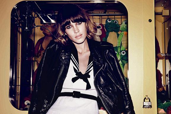 Alexa Chung in V magazine