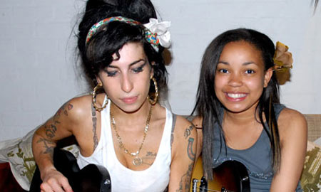 Amy Winehouse and Dionne Bromfield