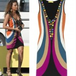 50% off Catherine Malandrino Jeweled tank dress
