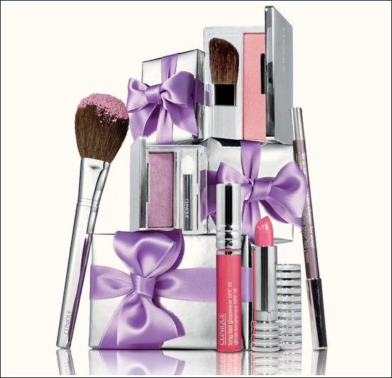 Clinique launches purple party collection for Christmas
