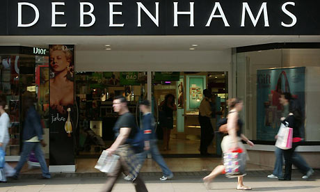 Debenhams joins Amazon and eBay