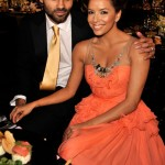 Eva Longoria Parker and Tony Parker for London Fog