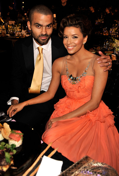 Eva Longoria Parker and Tony Parker
