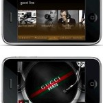 Gucci app for iPhone