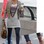 Gossip Girl's Jessica Szohr wears Charley 5.0 leggings…..