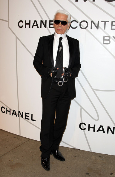 Karl Lagerfeld's weight issues