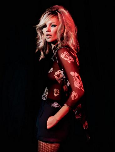 Kate Moss for Topshop Christmas collection AW09