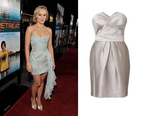 Kristen Bell's Marchesa Dress and Your Alternative…