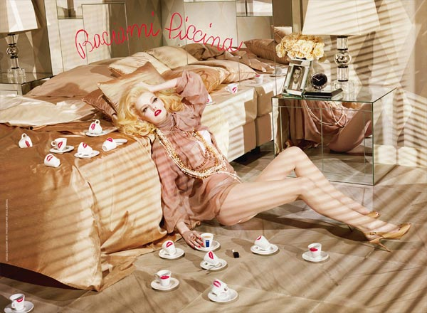 The latest Lavazza calendar from Miles Aldridge