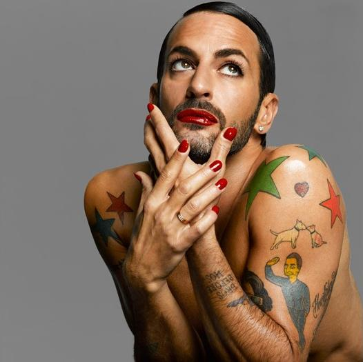 Marc Jacobs in Nars shoot