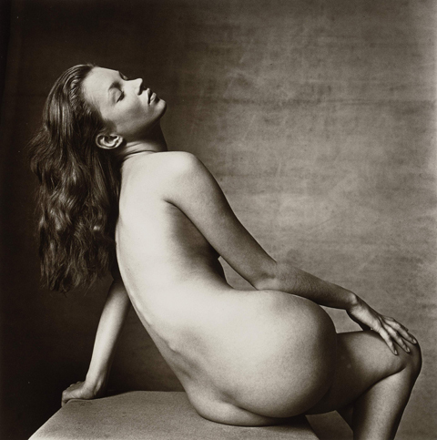 Kate Moss - an Irving Penn photograph