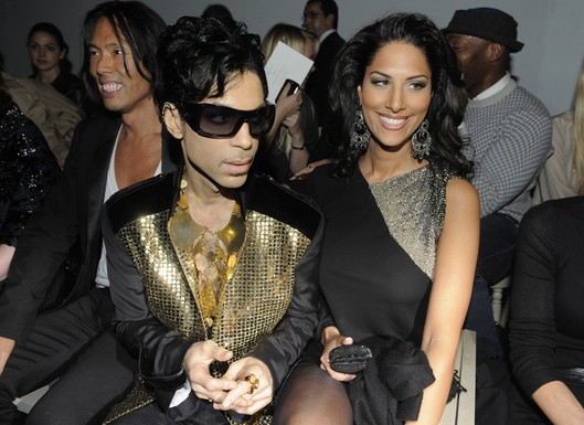 Prince and Bria Valente at YSL