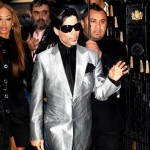 Prince at Paris Fashion Week