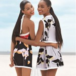 Teen Vogue cover girls: Jourdan Dunn and Chanel Iman
