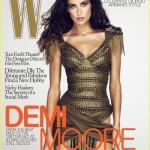 Demi Moore's W magazine controversy
