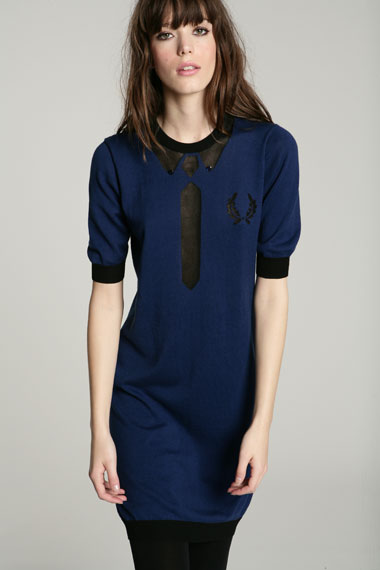 Lunchtime buy: Fred Perry Intarsia Crew Neck Dress