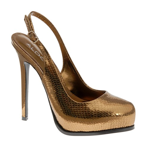 Daily lunchtime buy: Metallic slingback pumps