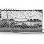 Win a silver clutch bag worth $225 from Aspinal of London!