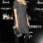 Claudia Schiffer's a Ferretti fan