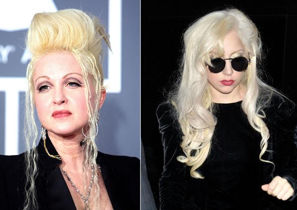 Cyndi Lauper and Lady Gaga