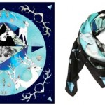Lunchtime buy: Forget Me Not Blue Deer Scarf