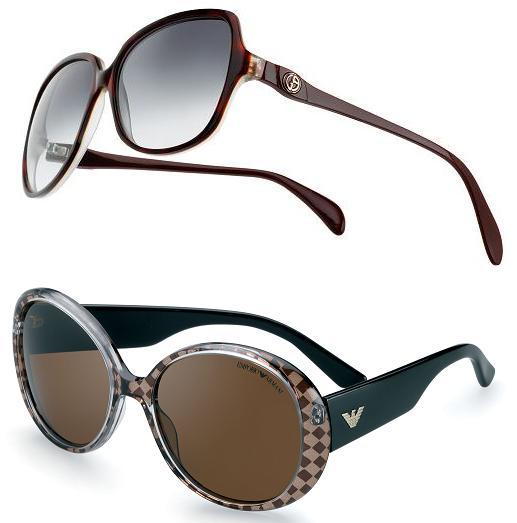Giorgio Armani's new eyewear models