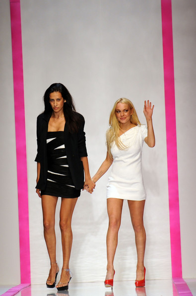 Emanuel Ungaro brands Lindsay Lohan's collection a 'disaster'