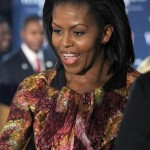 Michelle Obama in Peter Pilotto