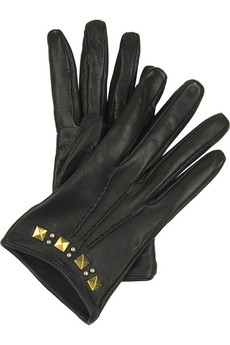 Lunchtime buy: Miu Miu cropped leather gloves