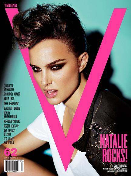 Natalie Portman in V magazine