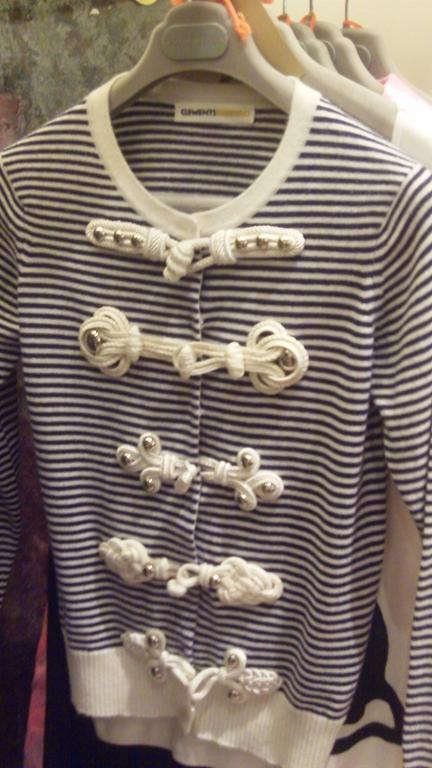 Nautical cardigan by Clements Ribeiro
