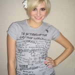 Pixie Lott designs for Moschino