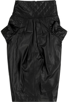 Lunchtime buy: Preen Line quilted leather skirt