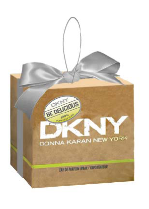 Stocking fillers: DKNY Be Delicious tree decorations
