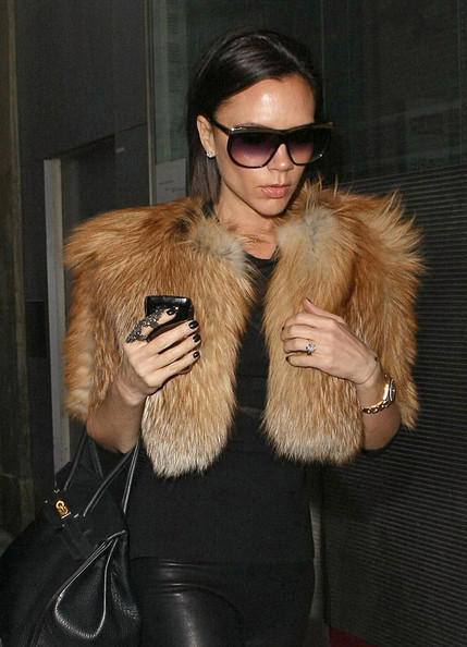 Victoria Beckham and Marc Jacobs to do fur?