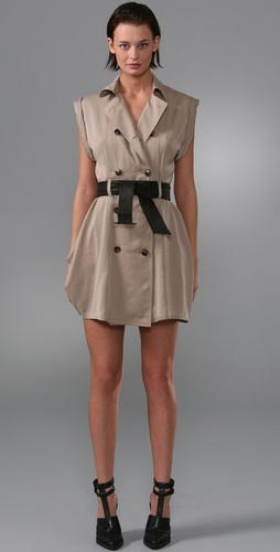 Wang khaki dress