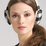 Lunchtime buy: Burberry Giant Check Earmuffs