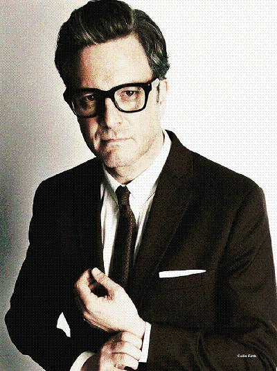 Colin Firth shot by Tom Ford