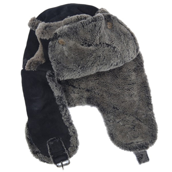 John Galliano Sheepskin hat