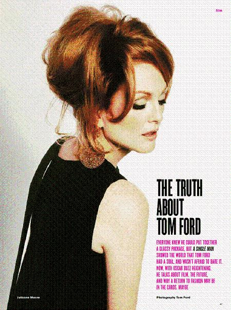 Julianne Moore by Tom Ford