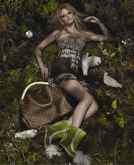 Lara Stone for Louis Vuitton SS10