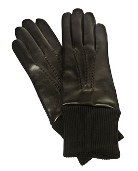 maison fabre leather gloves