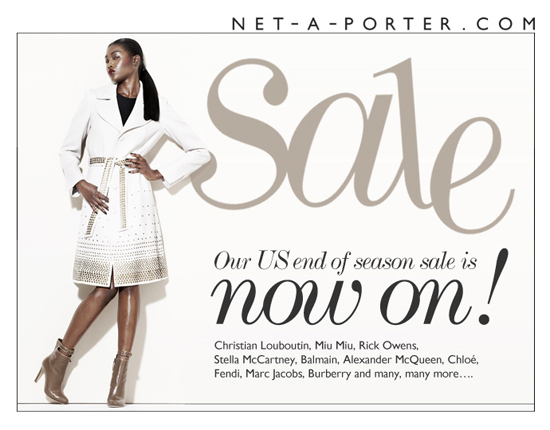 Net-a-Porter US end of season sale now on!