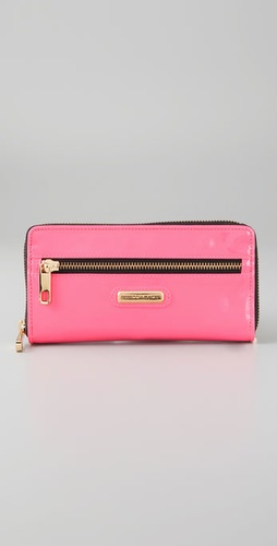 Lunchtime buy: Rebecca Minkoff Neon Nights Large Zip Wallet