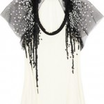 Lunchtime buy: Valentino Sequin-embellished jersey top