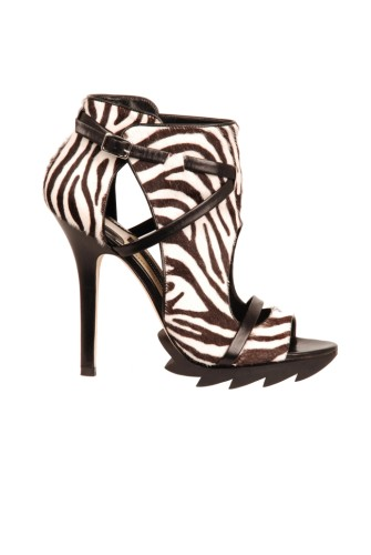 Lunchtime buy: Camilla Skovgaard for Amanda Wakeley Zebra shoe