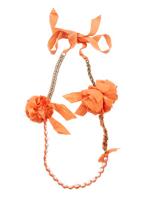 Lunchtime buy: Lanvin Pom Pom Necklace