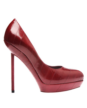 Lunchtime buy: YSL Eel skin pumps