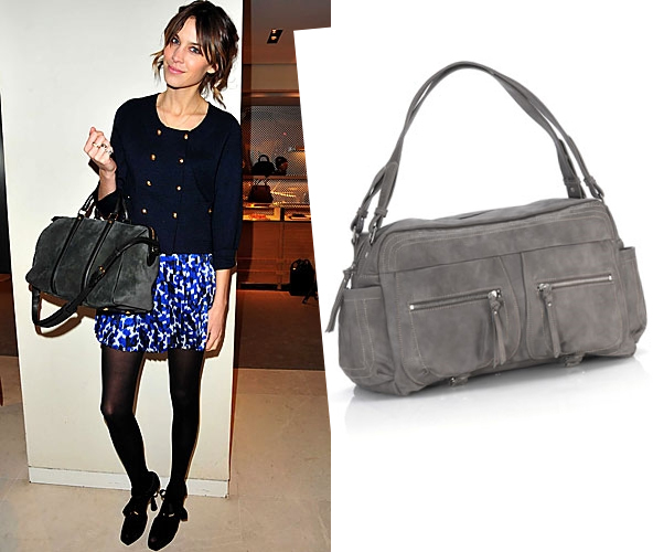 Alexa Chung's gorgeous arm candy!
