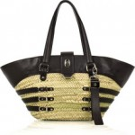Lunchtime buy: Jimmy Choo Bazli raffia and leather tote